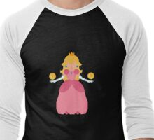 Princess PeachyPoo Men's Baseball ¾ T-Shirt