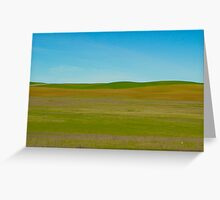Winter Green Greeting Card