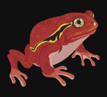 Frogs: Tomato Frog Kids Tee
