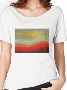 Canyon Outlandish original painting Women's Relaxed Fit T-Shirt