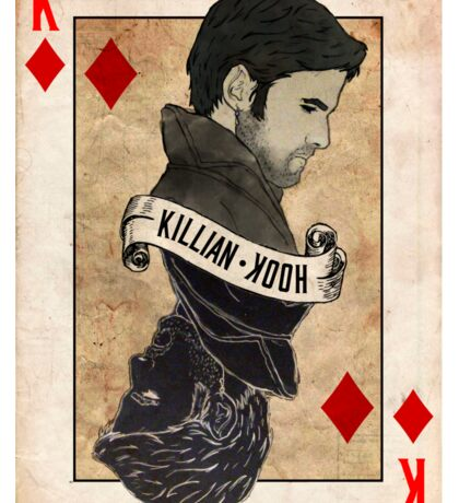 King of Diamonds: Captain Hook Sticker