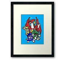 Pokerangers Framed Print
