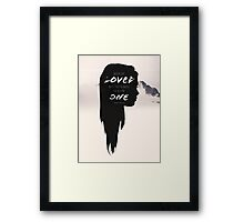 Paper Towns: Maybe she loved mysteries Framed Print