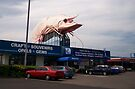 Big prawn in Ballina, New South Wales by Kayleigh Walmsley