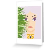 Khaleesi of the Great Grass Sea Greeting Card