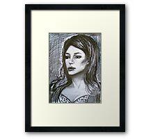 A Woman's Worth Framed Print