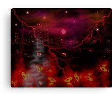 Eve Of Destruction Canvas Print