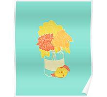Jar of Blooms Poster