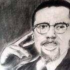Malcolm  X by jikpe