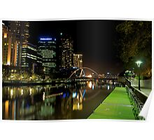 Still water,Yarra river,Melbourne Poster