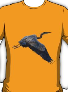 Great blue heron in fly T-Shirt