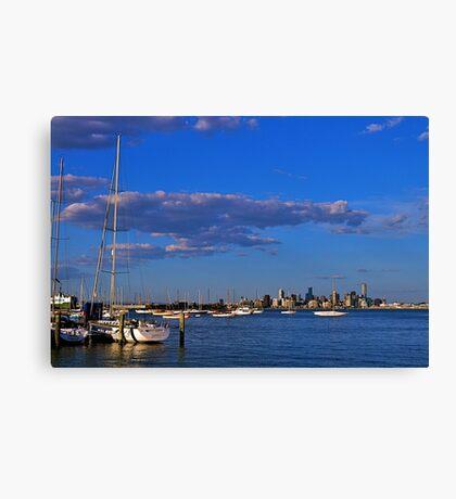 Cityscape...#2,Williamstown,Melbourne,Australia Canvas Print