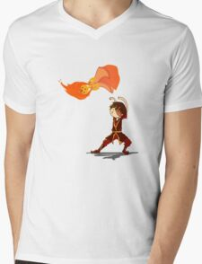 Fire Benders can Bend hot People  Mens V-Neck T-Shirt