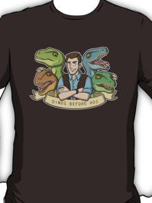 Dinos Before Hos T-Shirt