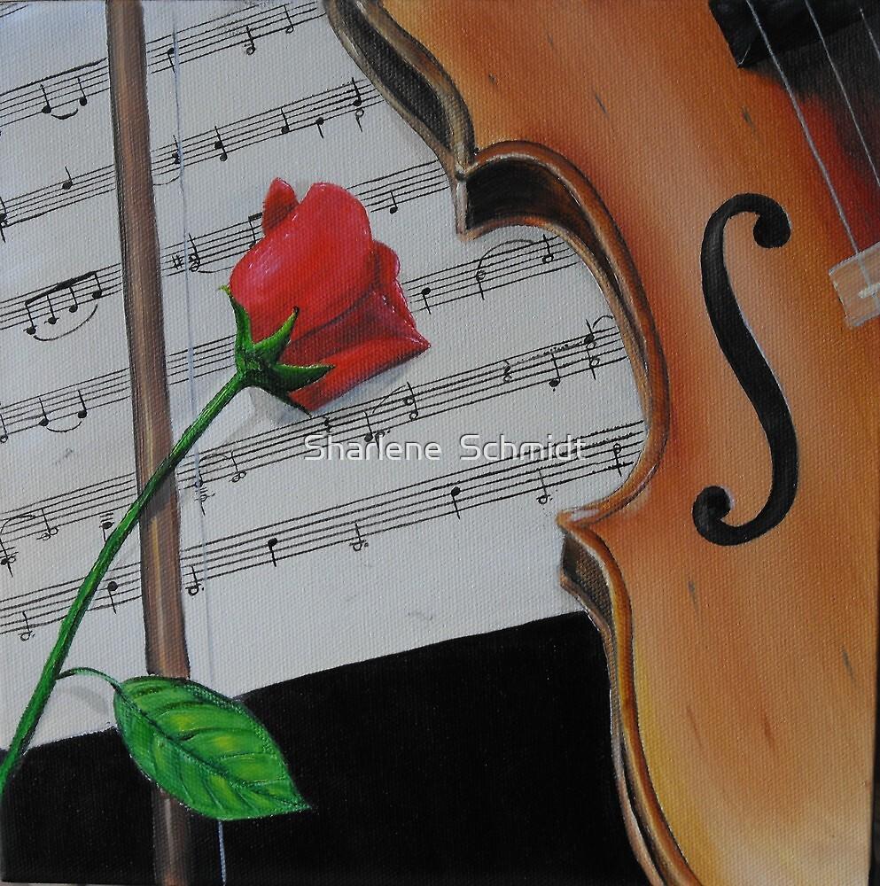 Heart Strings by Sharlene  Schmidt