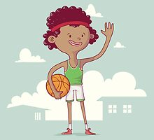 Basket boy by Mário Moreno