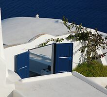 Oia, Island of Santorini, Greece by Aaron Minnick
