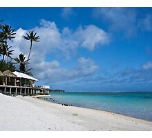 another day in paradise, cook islands by David Sarkin
