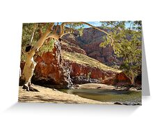 Ormiston Gorge,West McDonell Ranges,N.T. Greeting Card