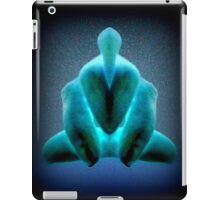 Green hopper hand art photography iPad Case/Skin