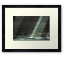 Second hand sunlight 01 Framed Print