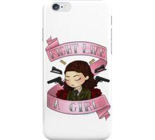 peggy says i am no man (alt. pink design) iPhone Case/Skin