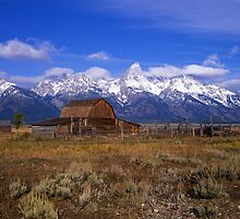 Teton Ranch #3 by Mike Norton
