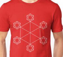Consciousness White Unisex T-Shirt