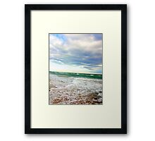 Once upon a time, I was a Mermaid........ Framed Print