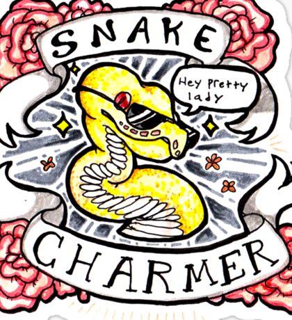Snake Charmer Sticker