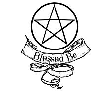 Blessed Be Photographic Print