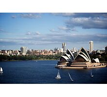 Music on the Harbour - Sydney Opera House Photographic Print