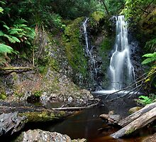 Hogarth Falls, Tasmania by auswegoimages