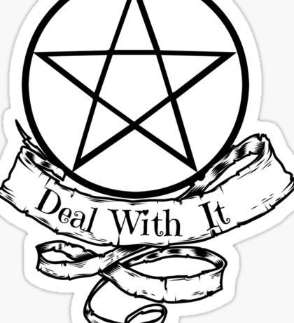 Witchcraft - Deal With It! Sticker