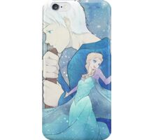 Jack Frost and Elsa iPhone Case/Skin