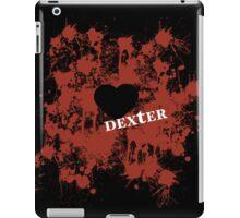 Dexter - love blood splatter iPad Case/Skin