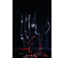 Glass lighting Photographic Print