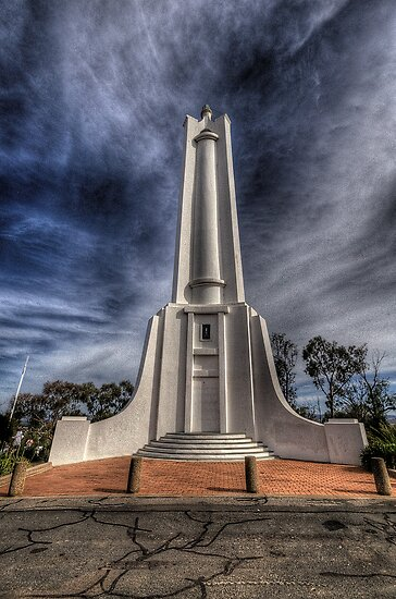 Lest We Forget - Monument Hill - Albury by Philip Johnson