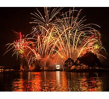 Celebrate! Illuminations Reflections of Earth at Epcot Photographic Print