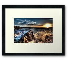 Magic Sunset Framed Print