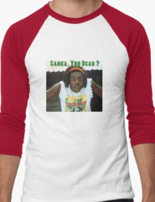 Sanka Yuh Dead? Cool Runnings Men's Baseball ¾ T-Shirt