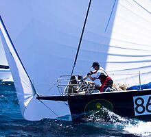 No. 86 Sydney to Hobart yacht race by Beth  Morley