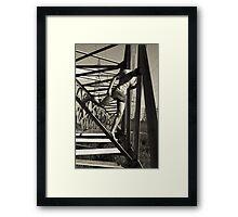 netWORK Framed Print