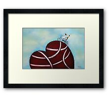 It takes two Framed Print