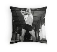 Get wild and dance Throw Pillow