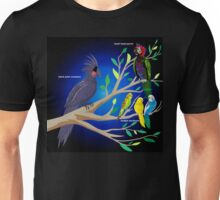 Parrots in a Tree Unisex T-Shirt