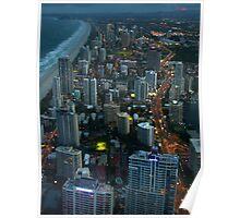 Surfers Paradise, Gold Coast Poster
