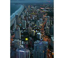 Surfers Paradise, Gold Coast Photographic Print