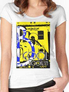 B Brooklyn  Women's Fitted Scoop T-Shirt