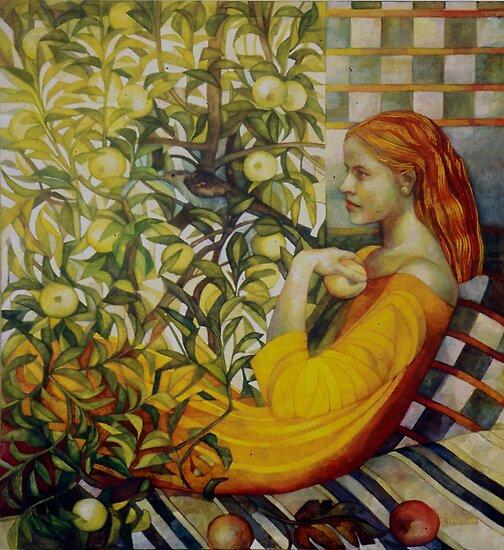 the apples lady by elisabetta trevisan